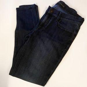 Express Dark Wash Skinny Jeans